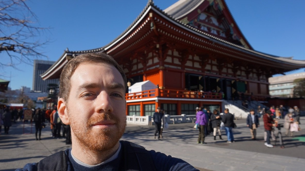 Alternative Image of Jonathan Garrett in Japan